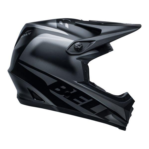 bell-moto-9-youth-mips-dirt-helmet-glory-matte-black-right.jpg-Bell MX 2021 Moto-9 Youth MIPS Helmet (Glory Matte Black)