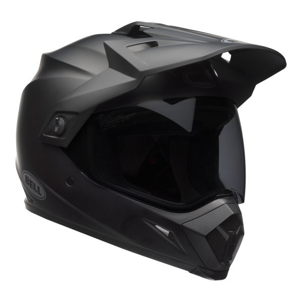 bell-mx-9-adventure-mips-dirt-helmet-matte-black-front-right.jpg-Bell MX 2021 MX-9 Adventure Mips Adult Helmet (Matte Black)