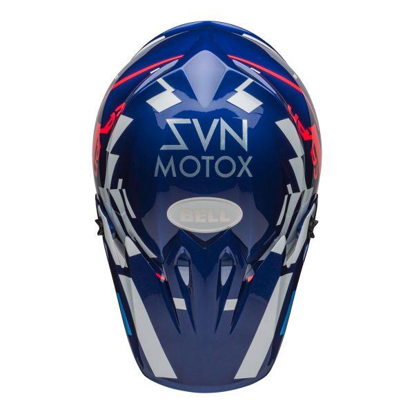 bell-mx-9-mips-dirt-helmet-seven-equalizer-gloss-blue-pink-white-top.jpg-Seven MX 2021 MX-9 Mips Adult Helmet (Equalizer Blue/Pink/White)