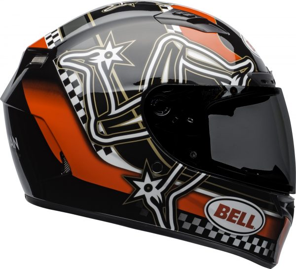 bell-qualifier-dlx-mips-street-helmet-isle-of-man-2020-gloss-red-black-white-right.jpg-Bell Street 2021 Qualifier DLX MIPS Adult Helmet (IOM 20 Red/Black/White)