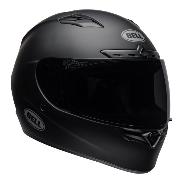 bell-qualifier-dlx-mips-street-helmet-matte-black-front-right.jpg-Bell Street 2021 Qualifier DLX Mips Adult Helmet (Solid Matte Black)