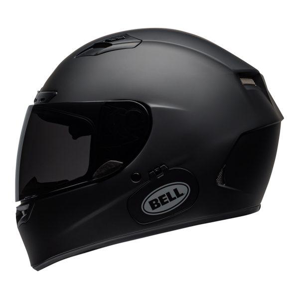 bell-qualifier-dlx-mips-street-helmet-matte-black-left.jpg-Bell Street 2021 Qualifier DLX Mips Adult Helmet (Solid Matte Black)