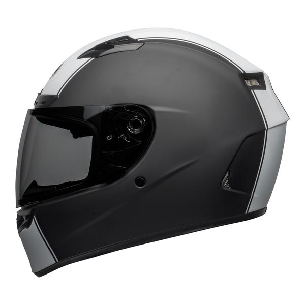 bell-qualifier-dlx-mips-street-helmet-rally-matte-black-white-left__05129.1601550706.jpg-Bell Street 2021 Qualifier DLX Mips Adult Helmet (Rally Matte Black/White)