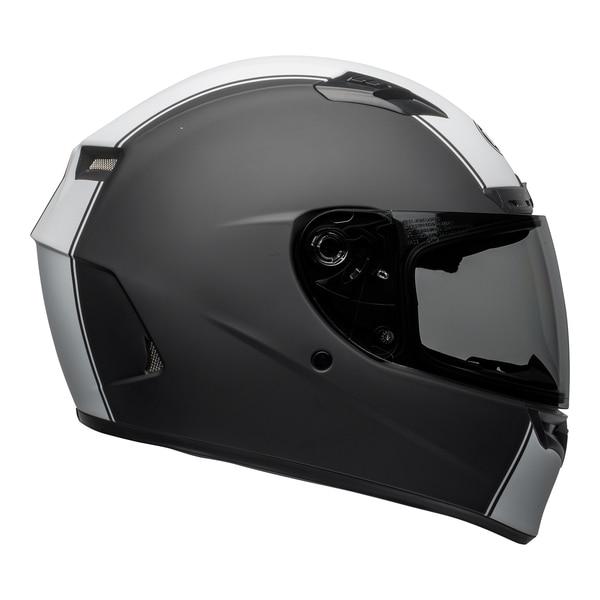 bell-qualifier-dlx-mips-street-helmet-rally-matte-black-white-right__55112.1601550706.jpg-Bell Street 2021 Qualifier DLX Mips Adult Helmet (Rally Matte Black/White)