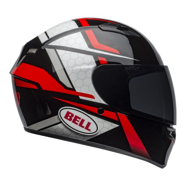 bell-qualifier-street-helmet-flare-gloss-black-red-right.jpg-Bell Street 2021 Qualifier STD Adult Helmet Helmet (Flare Gloss Black/Red)