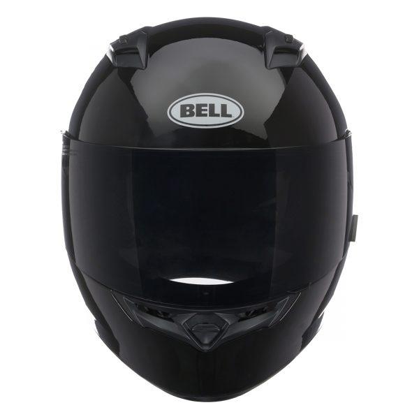 bell-qualifier-street-helmet-gloss-black-front__49864.jpg-Bell Street 2021 Qualifier STD Adult Helmet (Solid Black)