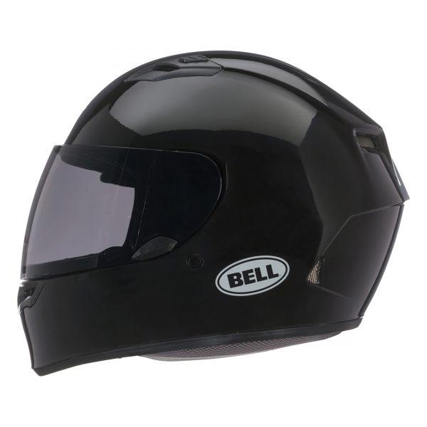 bell-qualifier-street-helmet-gloss-black-left__78919.jpg-Bell Street 2021 Qualifier STD Adult Helmet (Solid Black)