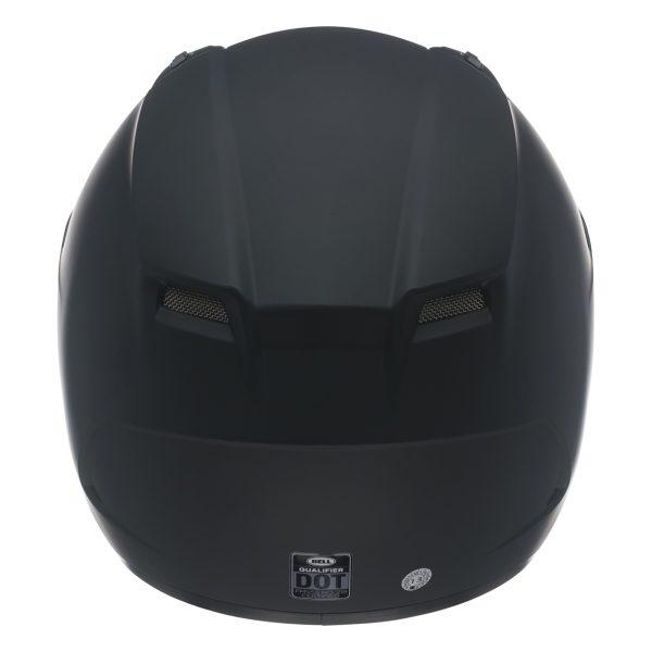 bell-qualifier-street-helmet-matte-black-back__84950.jpg-Bell Street 2021 Qualifier STD Adult Helmet (Solid Matte Black)