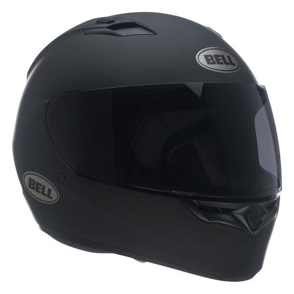 bell-qualifier-street-helmet-matte-black-front-right__71229.jpg-Bell Street 2021 Qualifier STD Adult Helmet (Solid Matte Black)