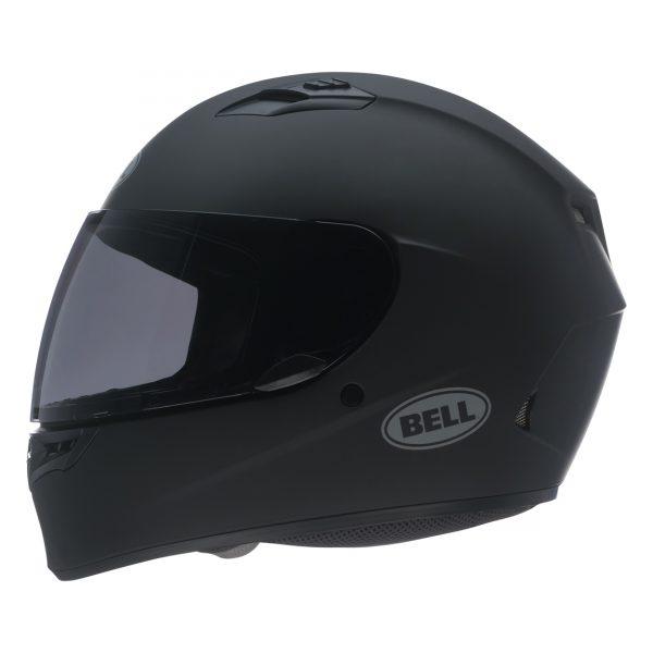 bell-qualifier-street-helmet-matte-black-left__53763.jpg-Bell Street 2021 Qualifier STD Adult Helmet (Solid Matte Black)