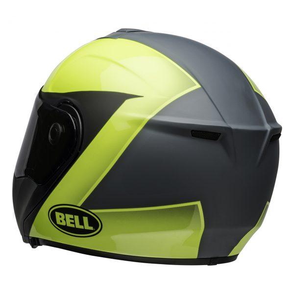 bell-srt-modular-street-helmet-presence-matte-gloss-gray-hi-viz-yellow-back-left__29632.1549293952.jpg-Bell Street 2021 SRT Modular Adult Helmet (Presence M/G Grey/Hi-Viz Yellow)