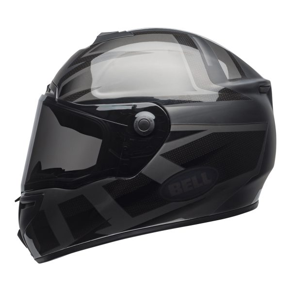bell-srt-street-helmet-predator-matte-gloss-blackout-left.jpg-Bell Street 2021 SRT Adult Helmet (Blackout Matte/Gloss Black)