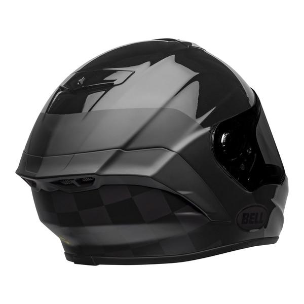 bell-star-dlx-mips-ece-street-helmet-lux-checkers-matte-gloss-black-root-beer-back-right__75999.1603185524.jpg-Bell Street 2021 Star DLX MIPS Adult Helmet Helmet (Lux Checkers M/G Black/Rootbeer)