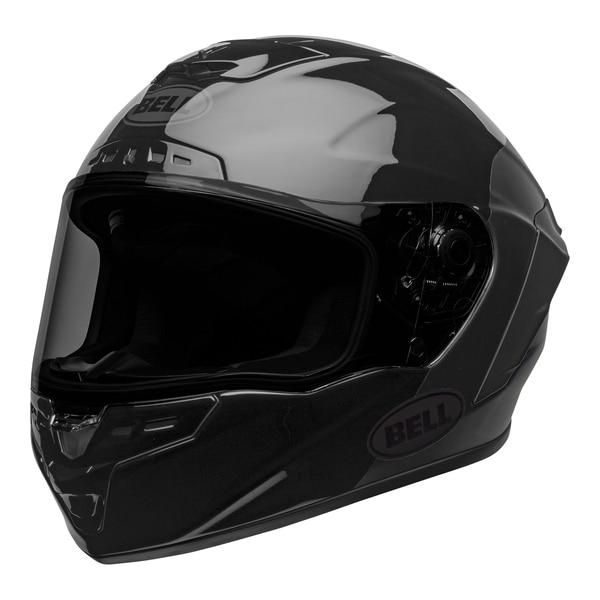 bell-star-dlx-mips-ece-street-helmet-lux-checkers-matte-gloss-black-root-beer-front-left__84453.1603185524.jpg-Bell Street 2021 Star DLX MIPS Adult Helmet Helmet (Lux Checkers M/G Black/Rootbeer)
