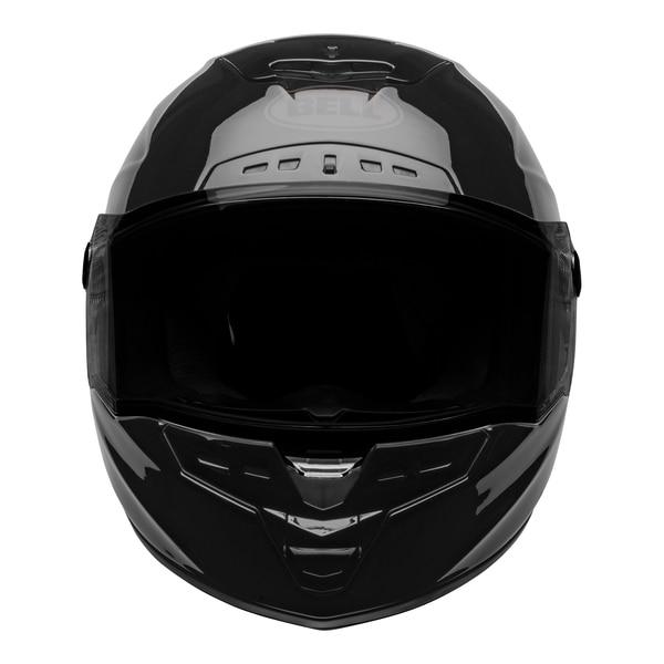 bell-star-dlx-mips-ece-street-helmet-lux-checkers-matte-gloss-black-root-beer-front__28499.1603185524.jpg-Bell Street 2021 Star DLX MIPS Adult Helmet Helmet (Lux Checkers M/G Black/Rootbeer)