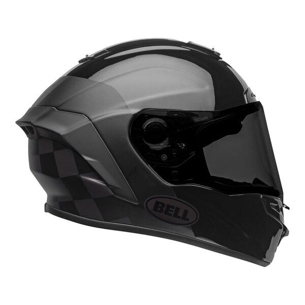 bell-star-dlx-mips-ece-street-helmet-lux-checkers-matte-gloss-black-root-beer-right__80370.1603185530.jpg-Bell Street 2021 Star DLX MIPS Adult Helmet Helmet (Lux Checkers M/G Black/Rootbeer)