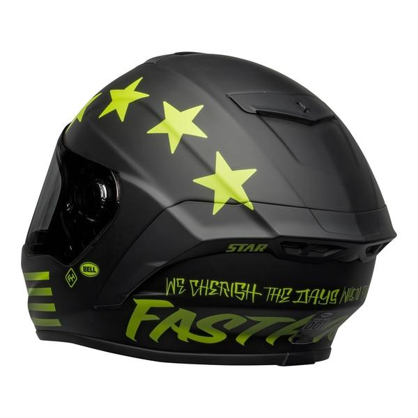 bell-star-dlx-mips-street-helmet-fasthouse-victory-circle-matte-black-hi-viz-back-left__89055.1601547419.jpg-Bell Street 2021 Star DLX MIPS Adult Helmet Helmet (Fasthouse Matte Black/Hi-Viz)