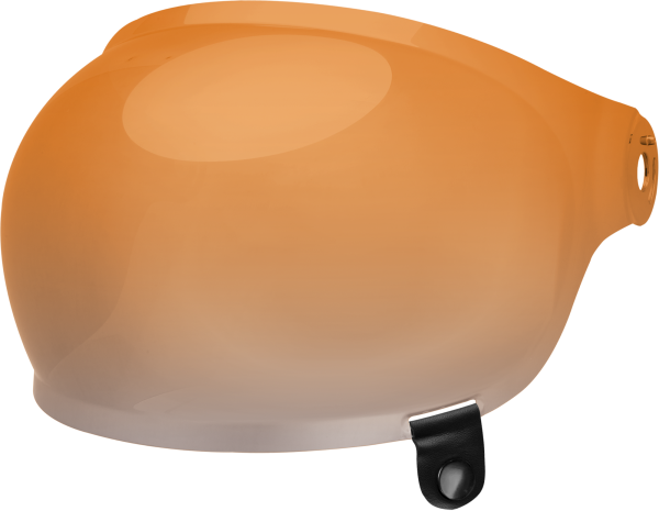 bell-bullitt-bubble-shield-spare-part-amber-gradient-black-tab-front-left.png-BELL BULLITT BUBBLE SHIELDS VARIOUS COLOURS (WITH BLACK TAB)