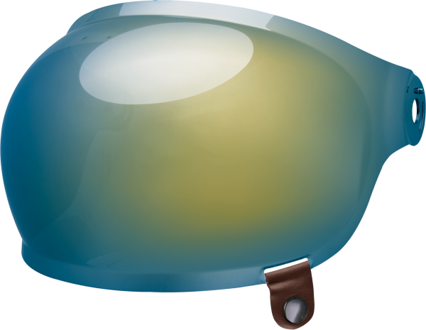 bell-bullitt-bubble-shield-spare-part-gold-iridium-brown-tab-front-left.png-BELL BULLITT BUBBLE SHIELDS VARIOUS COLOURS (WITH BROWN TAB)