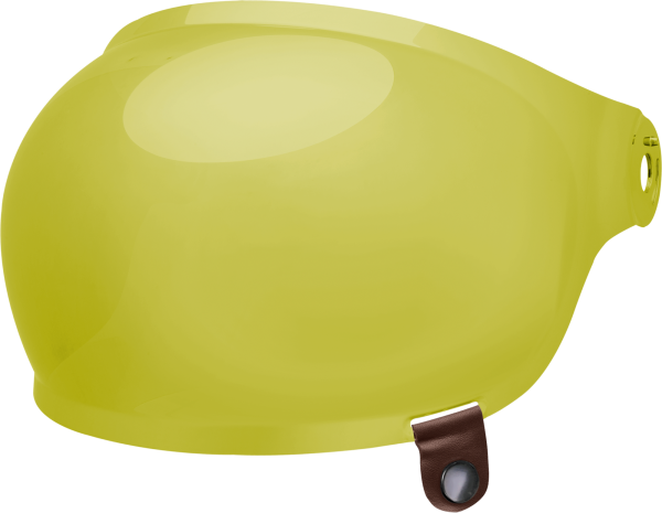 bell-bullitt-bubble-shield-spare-part-yellow-brown-tab-front-left.png-BELL BULLITT BUBBLE SHIELDS VARIOUS COLOURS (WITH BROWN TAB)