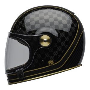 BELL BULLITT CARBON RSD CHECK IT MATT/GLOSS BLACK GOLD