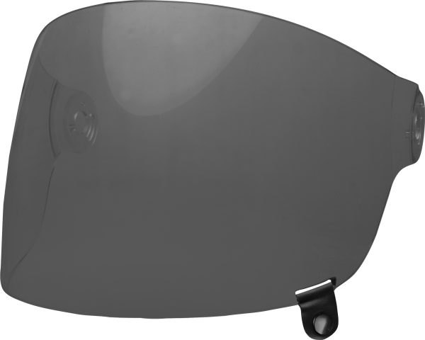 bell-bullitt-flat-shield-spare-part-dark-smoke-black-tab-front-left.png-BELL BULLITT FLAT SHIELDS VARIOUS COLOURS (WITH BLACK TAB)