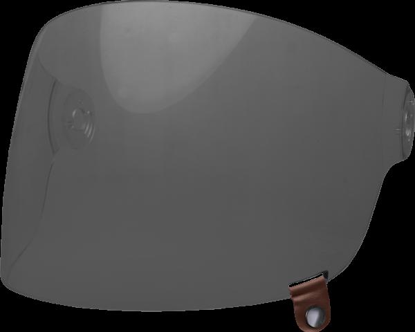 bell-bullitt-flat-shield-spare-part-dark-smoke-brown-tab-front-left.png-BELL BULLITT FLAT SHIELDS VARIOUS COLOURS (WITH BROWN TAB)