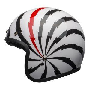 BELL CRUISER CUSTOM 500 SE DLX VERTIGO WHITE BLACK RED