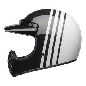 BELL MOTO-3 CLASSIC REVERB WHITE BLACK