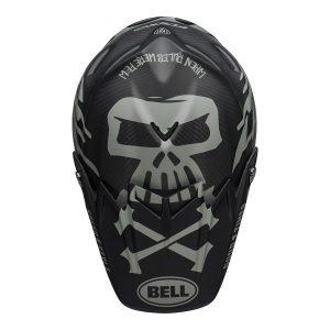 Bell MX 2021 Moto-9 Flex Adult Helmet (FastHouse WRWF M/G Black/White/Gray)