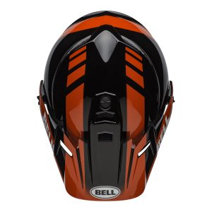 Bell MX 2021 MX-9 Adventure Mips Adult Helmet (Dash Black/Red/White)