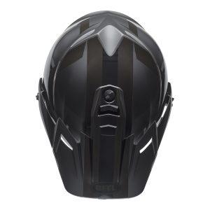 Bell MX 2021 MX-9 Adventure Mips Adult Helmet (Blackout Matte/Gloss Black)