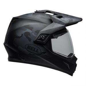 Bell MX 2021 MX-9 Adventure Mips Adult Helmet (Stealth Matte Black Camo)