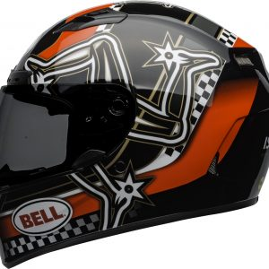 BELL QUALIFIER DLX MIPS ISLE OF MAN GLOSS BLACK RED