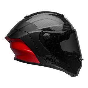 Bell Street 2021 Race Star Flex DLX Adult Helmet (Lux M/G Black/Red)