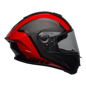 BELL RACE STAR FLEX TANTRUM 2 MATT GLOSS BLACK RED