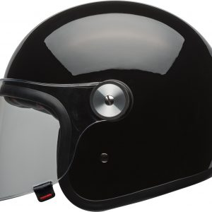 BELL RIOT SOLID GLOSS BLACK
