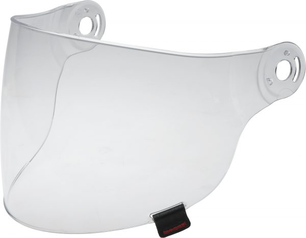 bell-riot-flat-shield-spare-part-clear-front-left.jpg-BELL RIOT SHIELD VISOR VARIOUS COLOURS