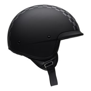 Bell Crusier 2021 Scout Air Adult Helmet (Check Matte Black/White)