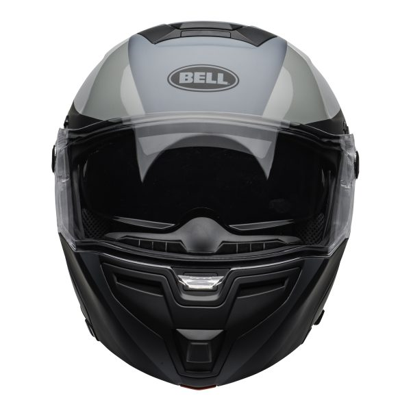 bell-srt-modular-street-helmet-presence-matte-gloss-black-gray-clear-shield-front.jpg-