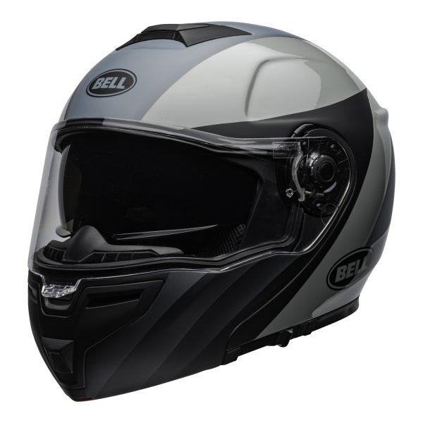 bell-srt-modular-street-helmet-presence-matte-gloss-black-gray-clear-shield-front-left.jpg-