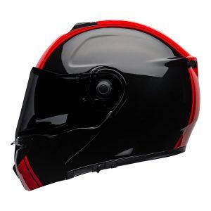 BELL SRT MODULAR RIBBON GLOSS BLACK RED