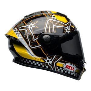 Bell Street 2021 Star DLX MIPS Adult Helmet Helmet (IOM Black/Yellow)