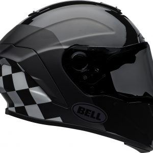 Bell Street 2021 Star DLX MIPS Adult Helmet Helmet (Lux Checkers M/G Black/White)